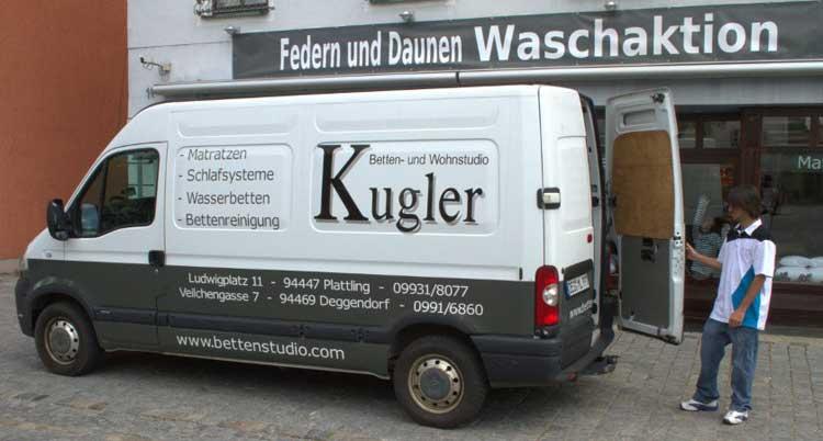 Serviceleistungen Bettenstudio Kugler